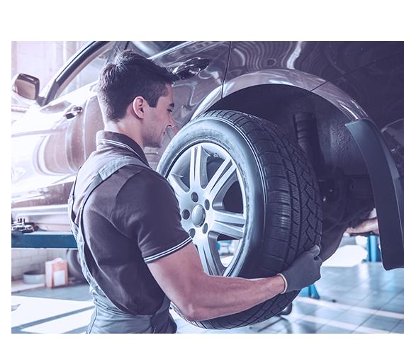 Centre du pneu