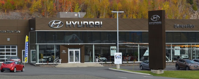 Hyundai dealership in Atholville