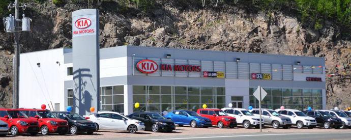 Kia dealership in Campbellton