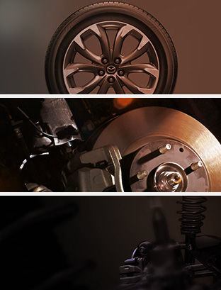 Cabine d'essayage Mazda