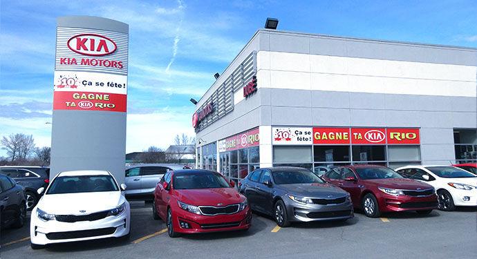 Kia dealership in Rivière-du-Loup