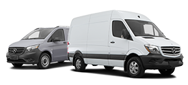 Explore our Mercedes-Benz Vans models.