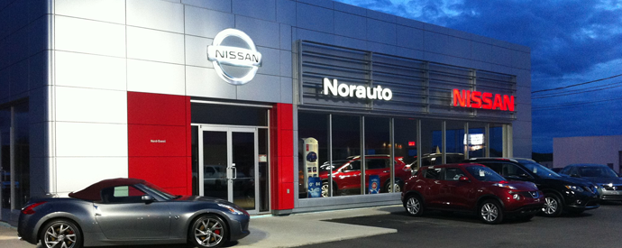Nissan dealership in Amos