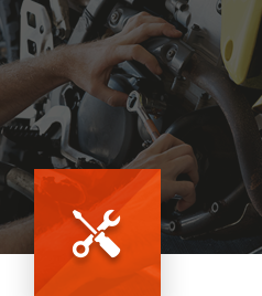 Excel Moto's service department takes care of your vehicle