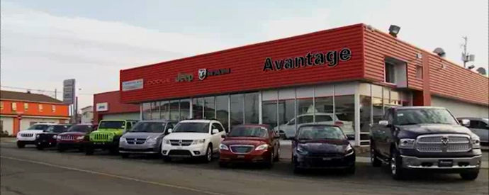 Jeep, Chrysler, Dodge, RAM dealership in La Sarre