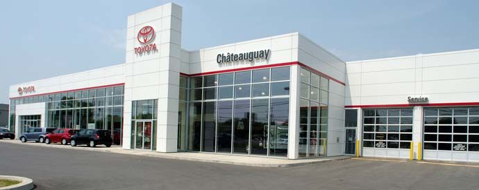 Toyota dealership in Châteauguay
