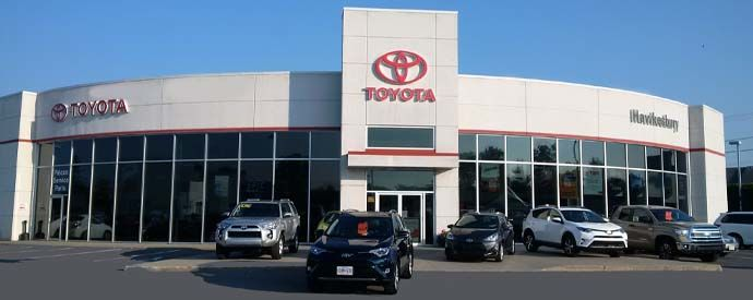 Toyota dealership in Hawkesbury