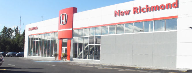 Honda dealership in New Richmond