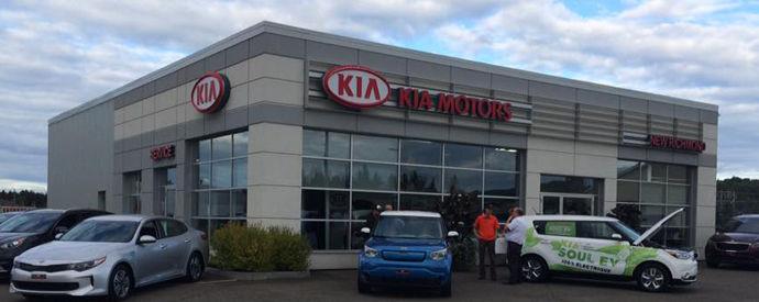 Kia dealership in New Richmond