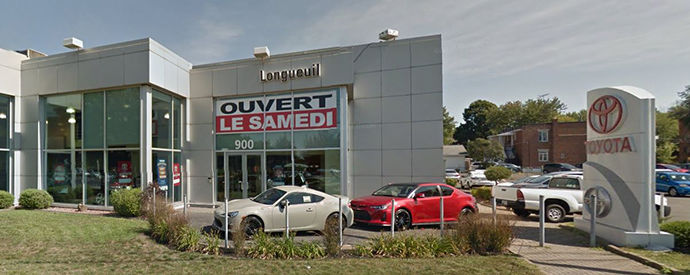 Toyota dealership in Longueuil