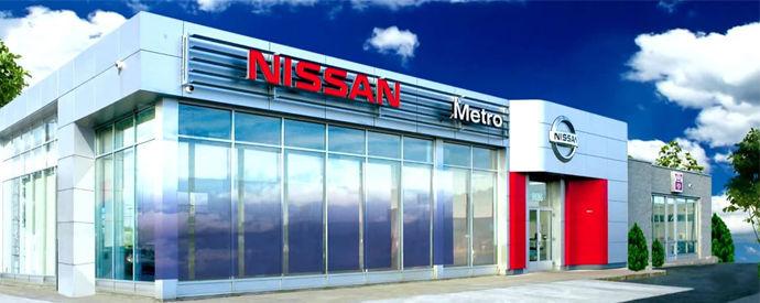 Nissan dealership in Lasalle