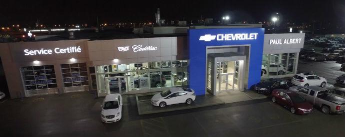 Concessionnaire Chevrolet, Buick, Cadillac, GMC à Chicoutimi