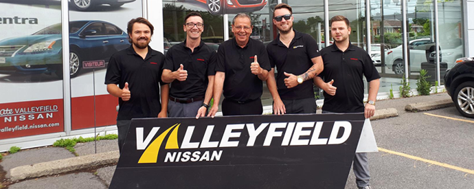 Concessionnaire Nissan à Salaberry-de-Valleyfield