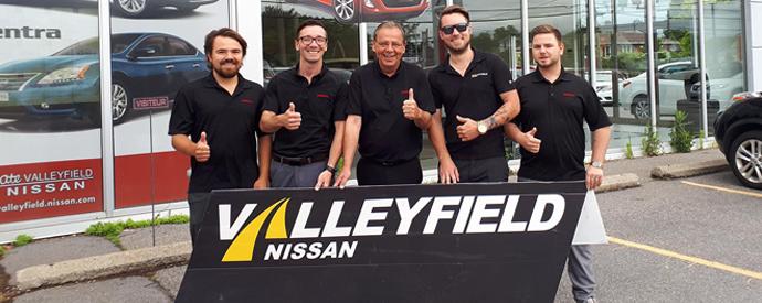 Nissan dealership in Salaberry-de-Valleyfield