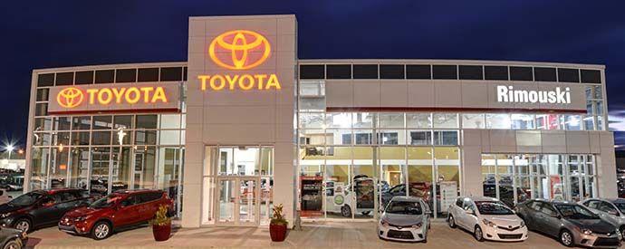 Toyota dealership in Rimouski