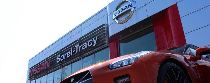 Concessionnaire Nissan à Sorel-Tracy