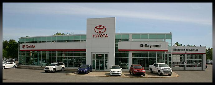 Concessionnaire Toyota à St-Raymond