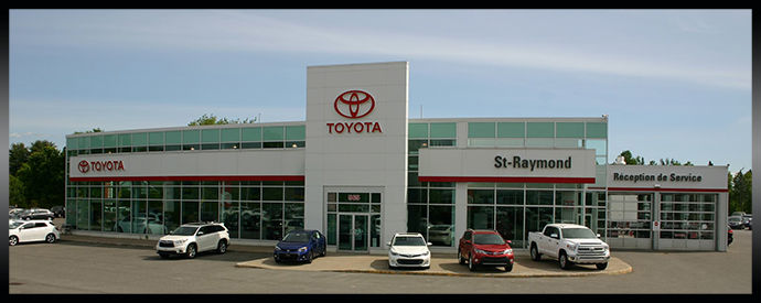 Toyota dealership in St-Raymond