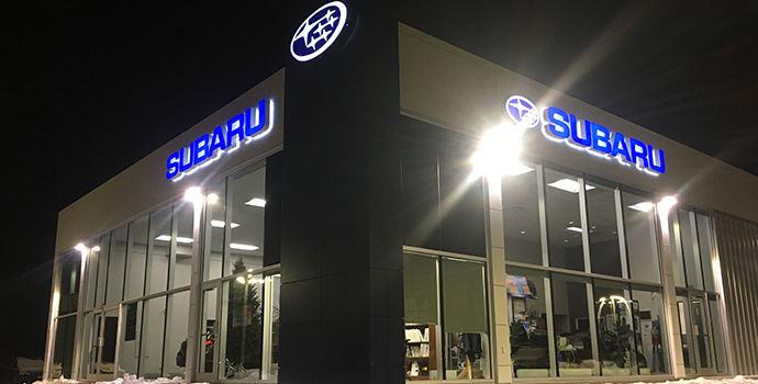 Subaru dealership in New Richmond