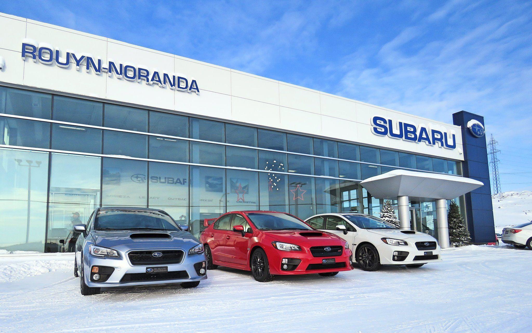 Concessionnaire Subaru à Rouyn-Noranda