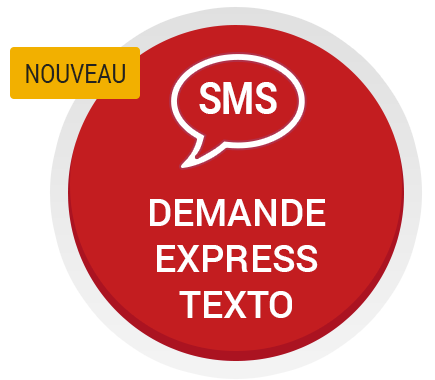 Demande express texto 450-914-0904