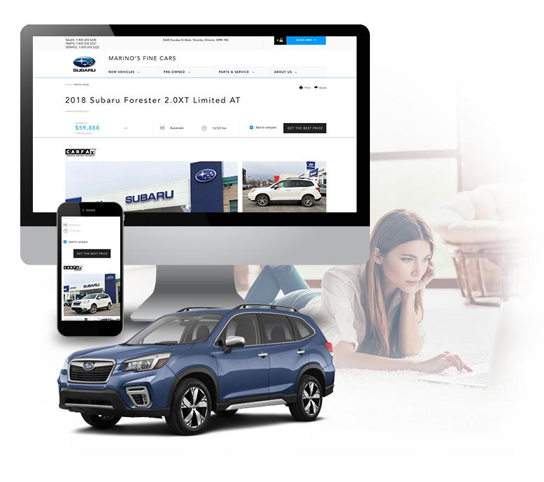 Find Your Next Pre-Owned Car in Complete Comfort