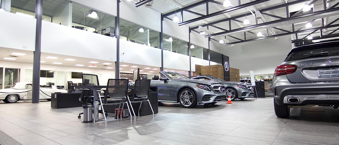 Mercedes-Benz heritage valley showroom photo 1