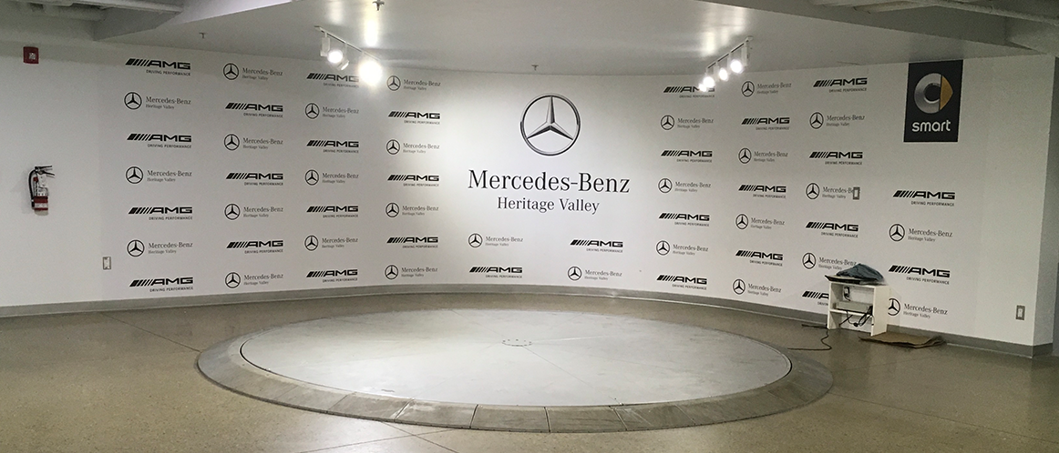 Mercedes-Benz heritage valley photo booth
