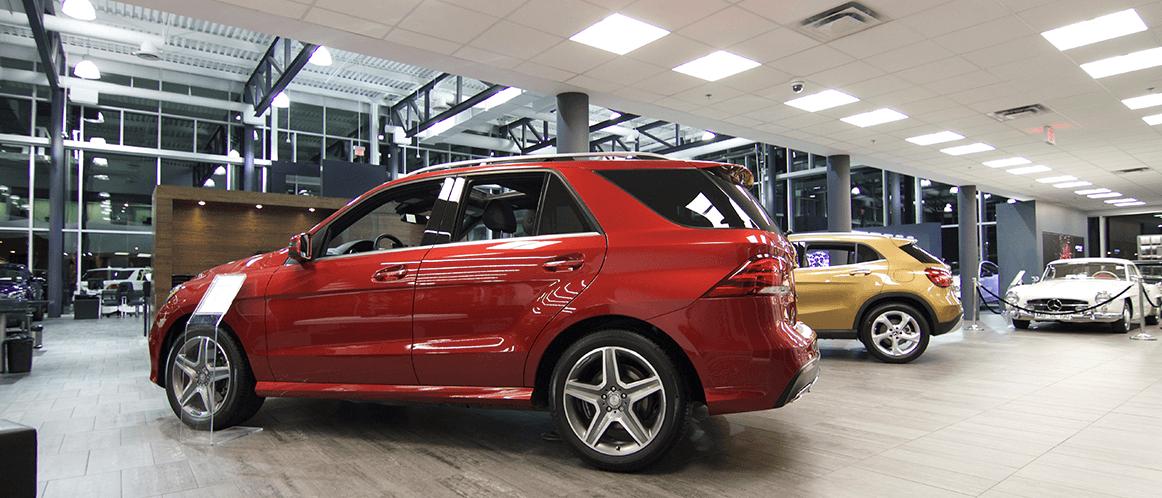 Mercedes-Benz heritage valley showroom photo 2