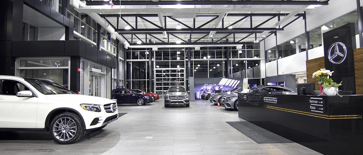 Mercedes-Benz heritage valley showroom photo 3