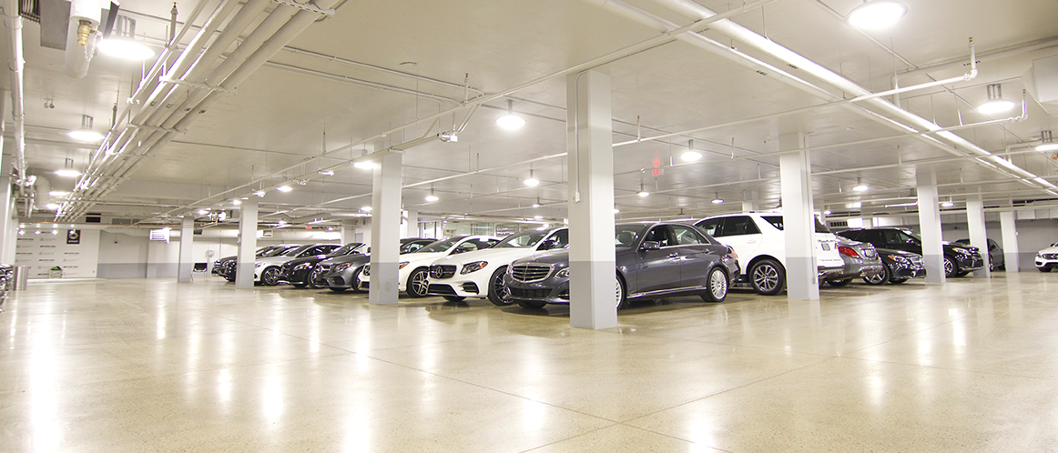 Mercedes-Benz heritage valley parking photo 1