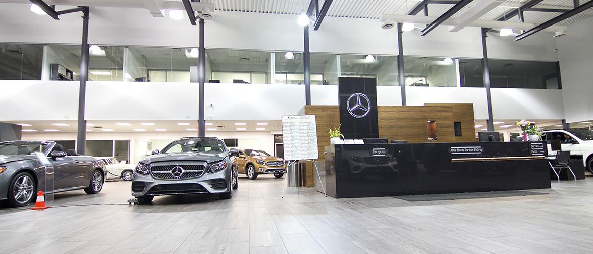 Mercedes-Benz heritage valley showroom photo 4