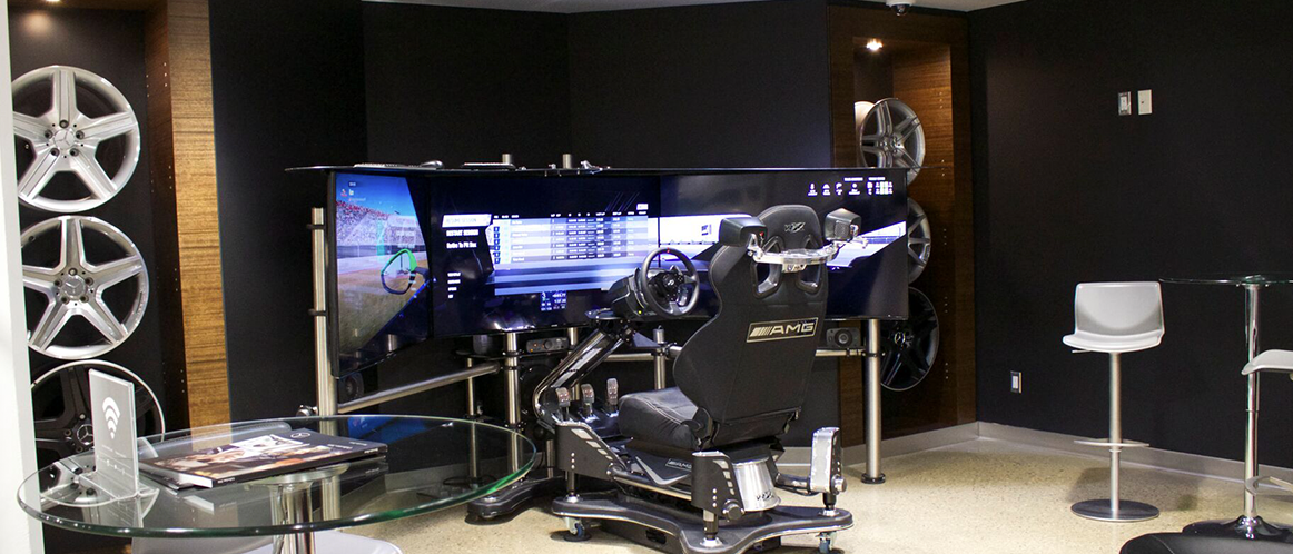 Mercedes-Benz heritage valley meeting space video games