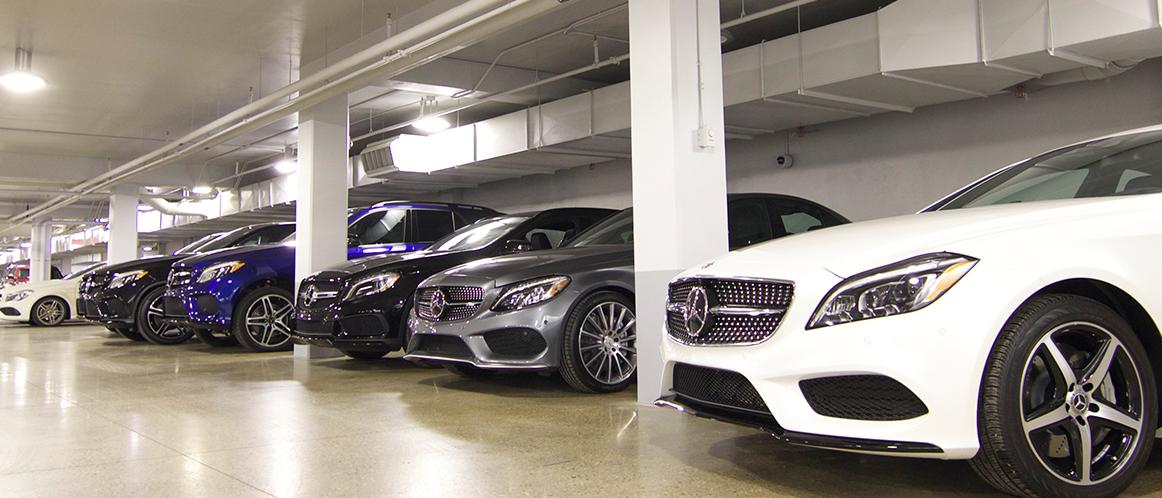 Mercedes-Benz heritage valley parking photo 2