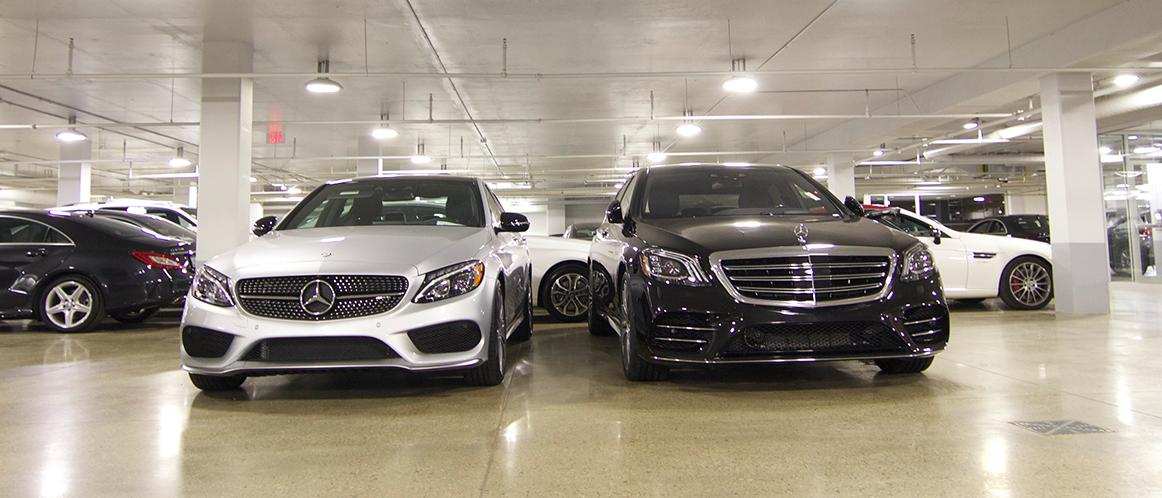 Mercedes-Benz heritage valley parking photo 3