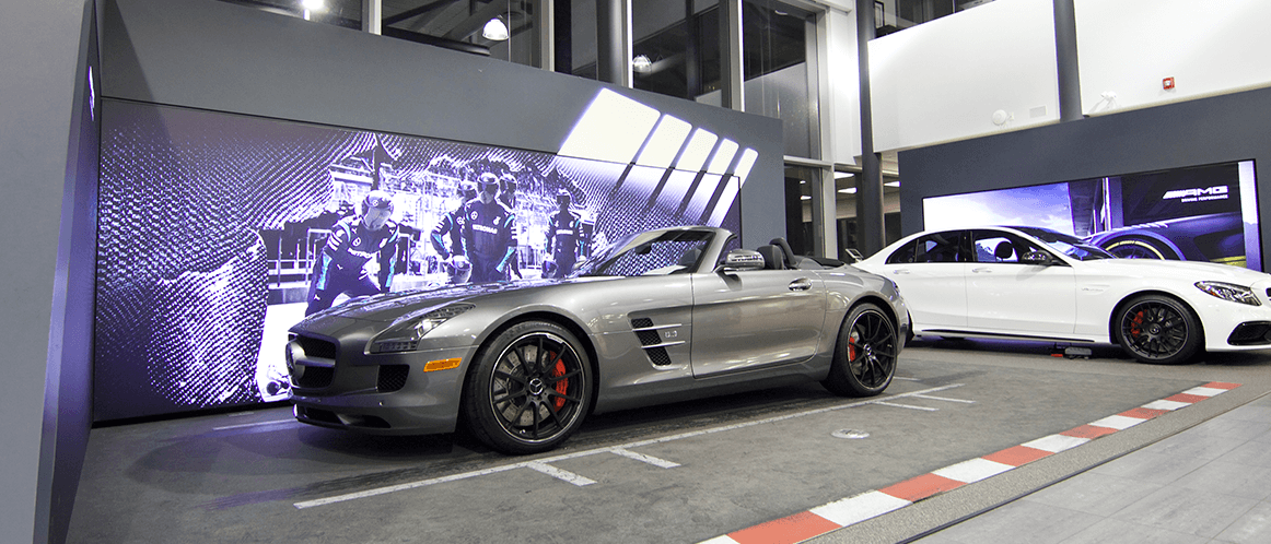 Mercedes-Benz heritage valley showroom GT-R