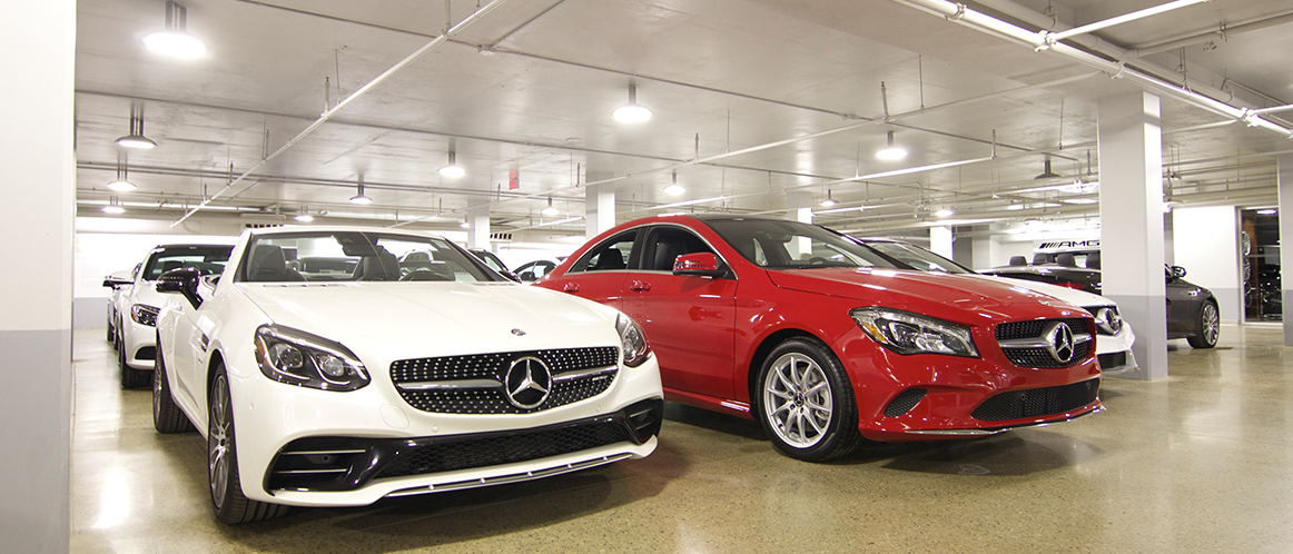 Mercedes-Benz heritage valley parking photo 4