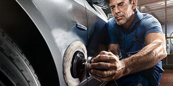 Service de réparations de carrosseries.