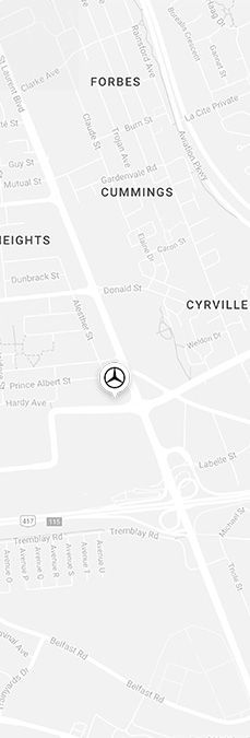 Directions to Mercedes-Benz Ottawa Downtown