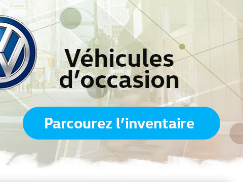 Véhicules d'occasion