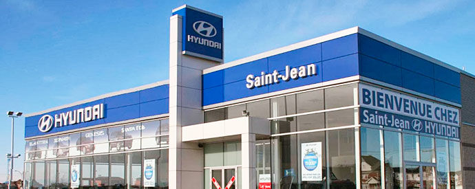 Hyundai dealership in Saint-Jean-sur-Richelieu