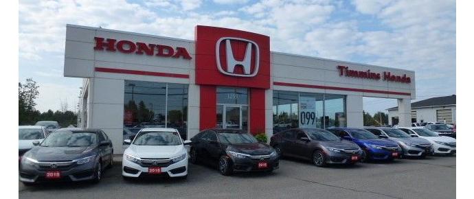Honda dealership in Timmins