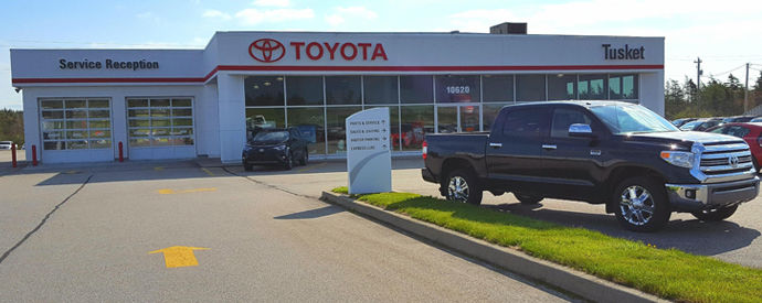 Concessionnaire Toyota à Yarmouth