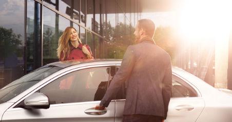 Mercedes-Benz Kingston | Avez-vous un véhicule d'échange?