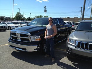 Martin and His New 2011 Dodge RAM!