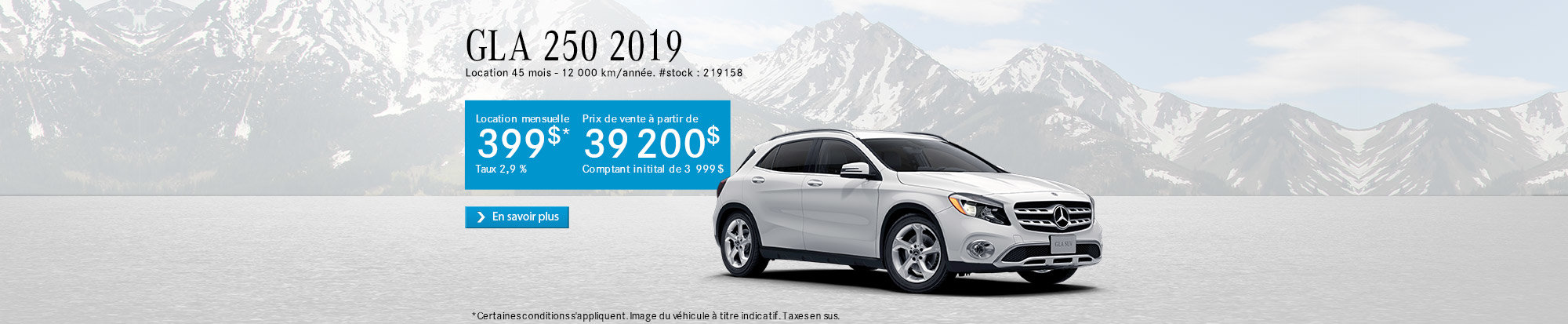 GLA 250 4MATIC 2019