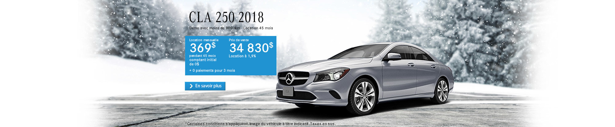 CLA 250 2018 - web