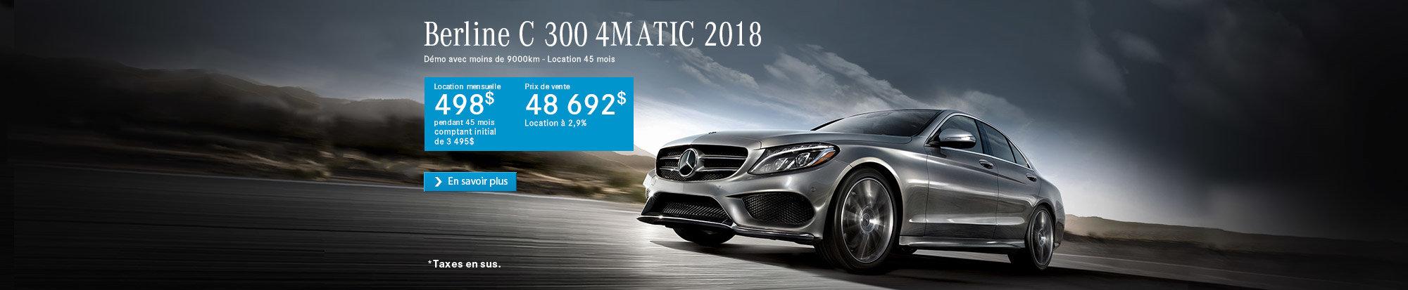 Classe C 300 2018 - web