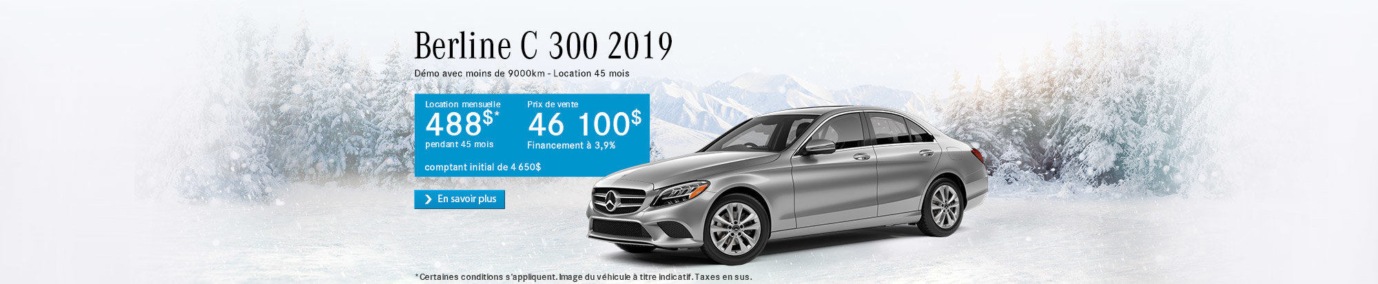 Classe C 300 2019 - web