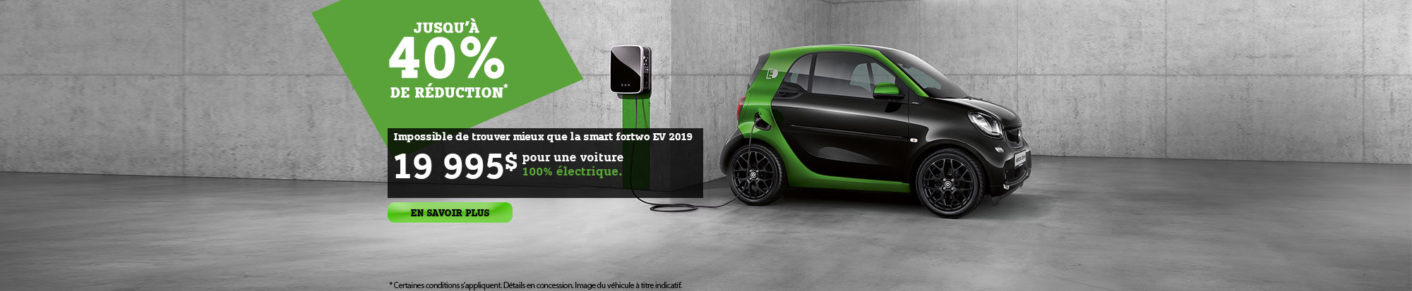 Smart fortwo EV 2019